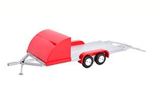 TRAILER CAR 2020 SILVER RED