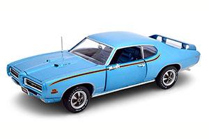 PONTIAC GTO JUDGE 1969 LIGHT BLUE-METALLIC LIMITED EDITION 1002 PCS