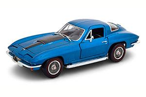 CHEVROLET CORVETTE 427 COUPE 1967 BLUE METALLIC LIMITED EDITION 1002 PCS