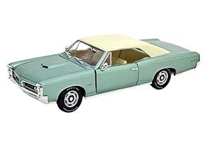 PONTIAC GTO 1966 LIGHT GREEN-METALLIC WHITE
