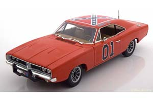 Dodge Charger General Lee 1969 From Movie The Dukes Of Hazzard