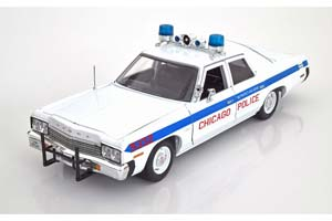 Dodge Monaco Chicago Police 1974 White