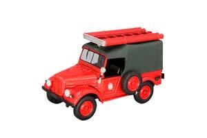 GAZ 69 (PMG 20) FIRE SERVICE CAR IN SERVICE #3 RED   ГАЗ 69 (ПМГ 20) ПОЖАРНАЯ СЛУЖБА АВТОМОБИЛЬ НА СЛУЖБЕ #3 КРАСНЫЙ