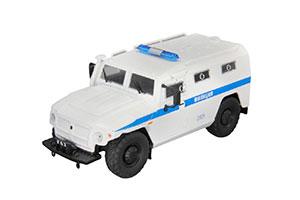 GAZ 233036 TIGER RUSSIAN POLICY CAR 2010 WHITE | ГАЗ 233036 ТИГР ОМОН МВД РФ АВТОМОБИЛЬ НА СЛУЖБЕ #29