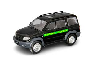 UAZ PATRIOT FORESTRY PROTECTION CAR ON SERVICE 60 BLACK   УАЗ ПАТРИОТ ЛЕСНАЯ ОХРАНА АВТОМОБИЛЬ НА СЛУЖБЕ 60 ЧЕРНЫЙ
