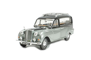AUSTIN A125 SHEERLINE HEARSE 1950 BLACK/SILVER *ОСТИН АУСТИН