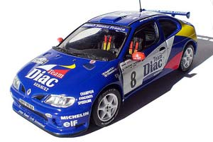 Renault Megane Maxi Jean Ragnotti/Gilles Thimonier #8 Tour de Course 1996