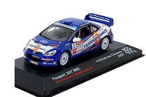 Peugeot 307 WRC Patrick Henry/Magali Lombard Criterium des Cevennes 2007