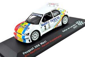 Peugeot 306 Maxi MAUFFREY Eric #2 Rallye de Lorraine 2007