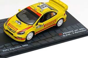 Peugeot 307 WRC G.GALLI G.Bernacchini Rally Argentina 2006