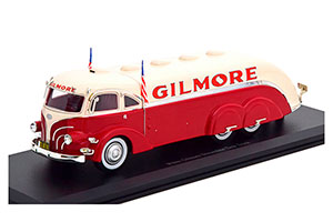 WHITE GILMORE STREAMLINE TANK TRUCK 1935 RED/CREME