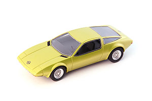 OPEL GT/W GENEVE CONCEPT YELLOW GERMANY 1975