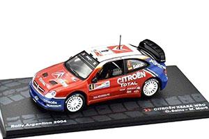 CITROEN XSARA WRC #4 C.SAINZ/M.MARTI WINNER RALLY ARGENTINA 2004 *СИТРОЕН СИТРОЭН