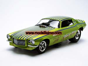 Chevrolet Camaro Fighting Irish Funny Car 1971 Green