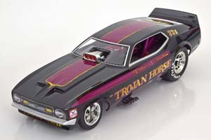 FORD MUSTANG TROJAN HORSE FUNNY CAR 1972 DOHENY/FULLERTON