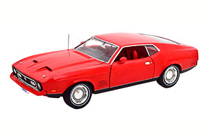 FORD MUSTANG MACH 1 JAMES BOND DIAMONDS ARE FOREVER 1971 RED