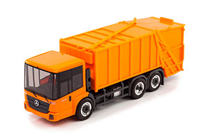MERCEDES ECONIC FAUN GARBAGE TRUCK ORANGE *BENZ BENC МЕРСЕДЕС БЕНС МЕРСИДЕС МЕРСЕДЕЗ БЕНЦ
