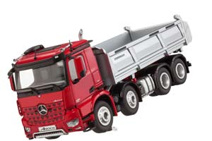 MERCEDES AROCS 8×4 TIPPER MODEL 2014 RED