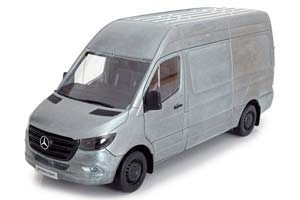 MERCEDES SPRINTER PANEL VAN RUGGED EDITION 2018 SILVER-COLOURED *BENZ BENC МЕРСЕДЕС БЕНС МЕРСИДЕС МЕРСЕДЕЗ БЕНЦ