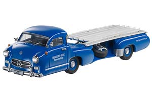 MERCEDES RENNTRANSPORTER 1955 BLUE