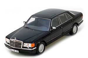 MERCEDES W126 560 SEL 1985 BLACK *BENZ BENC МЕРСЕДЕС БЕНС МЕРСИДЕС МЕРСЕДЕЗ БЕНЦ