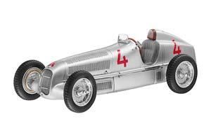 Mercedes W25 1935 GP Silver
