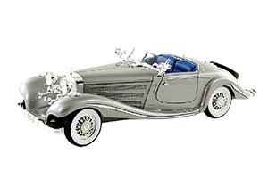 MERCEDES W29 500 K ROADSTER W29 1934 SILVER *BENZ BENC МЕРСЕДЕС БЕНС МЕРСИДЕС МЕРСЕДЕЗ БЕНЦ