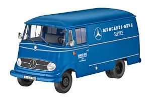 MERCEDES L319 VAN MERCEDES-BENZ SERVICE 1956-1967 BLUE
