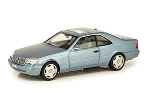 MERCEDES W140 CL600 COUPE C140 1996 BLUE
