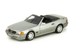 MERCEDES W129 500 SL R129 1989-2001 SILVER METALLIC