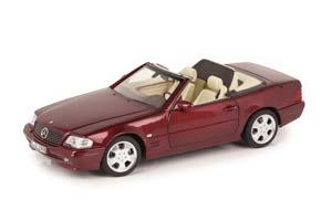 MERCEDES W129 SL500 R129 UPLIFTING 1999 RED