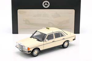 MERCEDES W123 E200 E-CLASS TAXI 1980-1985 BEIGE LIMITED EDITION 1000 PCS *BENZ BENC МЕРСЕДЕС БЕНС МЕРСИДЕС МЕРСЕДЕЗ БЕНЦ