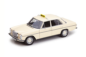 MERCEDES W114/W115 TAXI 1968-1973 WHITE *BENZ BENC МЕРСЕДЕС БЕНС МЕРСИДЕС МЕРСЕДЕЗ БЕНЦ