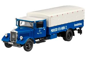 MERCEDES LO 2750 RENNTRANSPORTER 1936 BLUE/WHITE