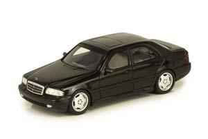 MERCEDES W202 C43 AMG 1997-2000 BLACK