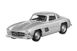 MERCEDES W198 300 SL-CLASS 1954-1957 PULLBACK SILVER