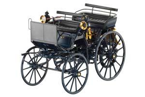Mercedes Daimler Motorkutsche 1886 Black