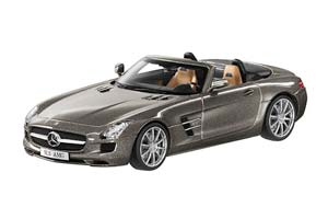 MERCEDES SLS AMG ROADSTER 2011 MONZA GRAY MAGNO *BENZ BENC МЕРСЕДЕС БЕНС МЕРСИДЕС МЕРСЕДЕЗ БЕНЦ