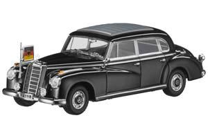 MERCEDES W186 300B KONRAD ADENAUER III 1954/1955 BLACK
