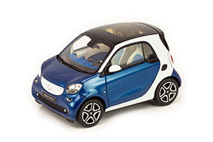 SMART FORTWO COUPE W453 BLUE/WHITE