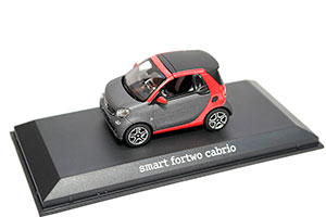 SMART A453 FORTWO CABRIOLET 2017 RED