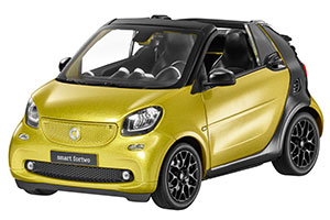 SMART FORTWO CABRIOLET A453 2015 GOLD / BLACK