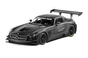 MERCEDES SLS AMG GT3 2013 MATT BLACK