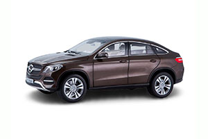 MERCEDES W292 GLE-KLASSE COUPE (C292) 2015 BROWN METALLIC