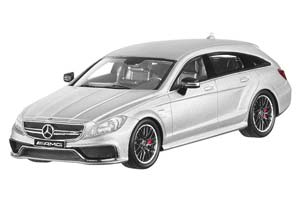 MERCEDES X218 CLS-CLASS 63 AMG SHOOTING BRAKE 2014 SILVER