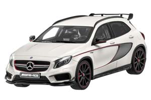 MERCEDES GLA 45 AMG 2015 WHITE METALLIC SPECIAL EDITION BY MERCEDES LIMITED 1000 PCS.