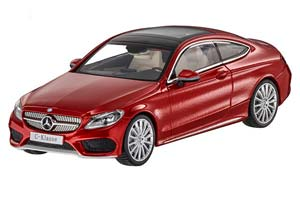 MERCEDES C205 C-CLASS COUPE 20216 HYACINTH RED