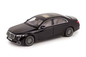 MERCEDES W223 S-CLASS AMG-LINE V223 2021 BLACK METALLIC
