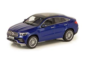 MERCEDES W167 GLE-COUPE AMG STYLE 2020 C167 BLUE METALLIC