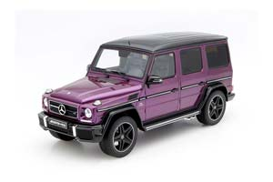 MERCEDES G 63 AMG W463 G63 CRAZY COLOR 2016 GALACTICBEAM VIOLET VERY LIMITED EDITION 463 PCS.